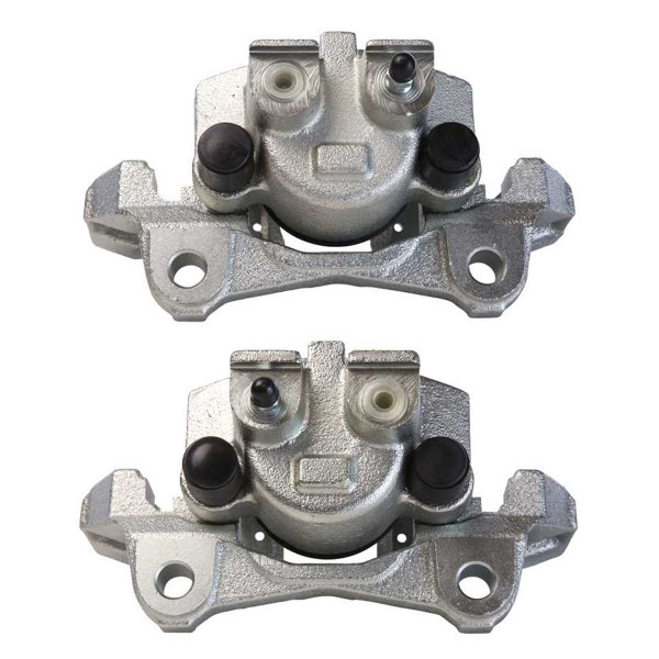 Rear Brake Caliper Pair 2 Pieces Fits Driver and Passenger side - Part # BC2708PR