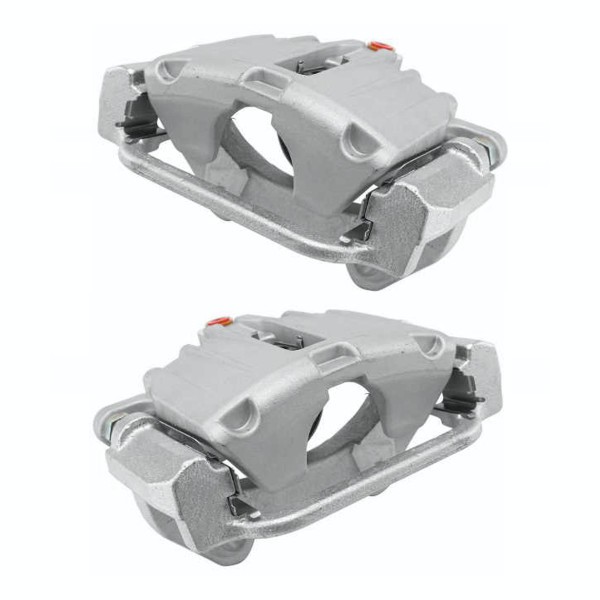 Rear Brake Caliper Pair 2 Pieces Fits Driver and Passenger side 4 Wheel Disc - Part # BC2830PR