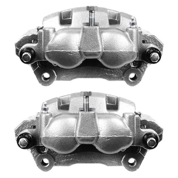 Rear Disc Brake Caliper Pair Phenolic Piston - Part # BC2872PR