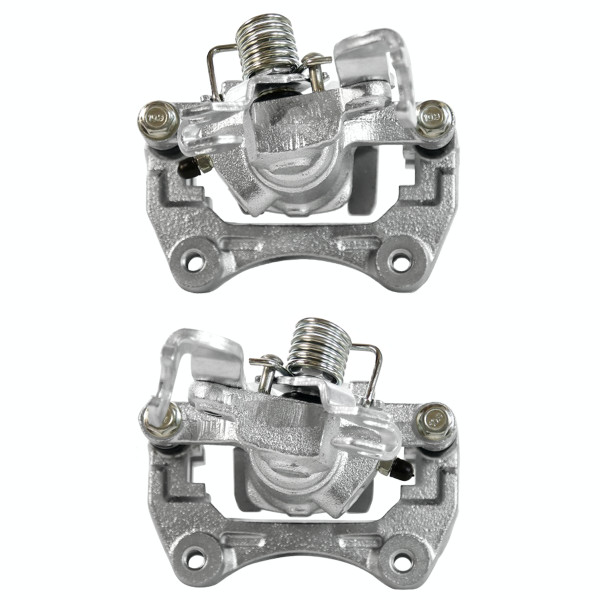 Rear Brake Caliper Pair 2 Pieces Fits Driver and Passenger side - Part # BC2996PR