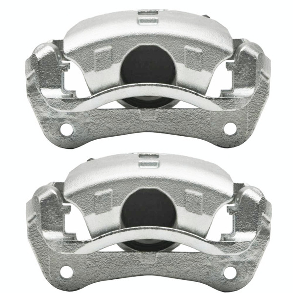 Front Disc Brake Caliper Pair Metal Piston - Part # BC30090PR