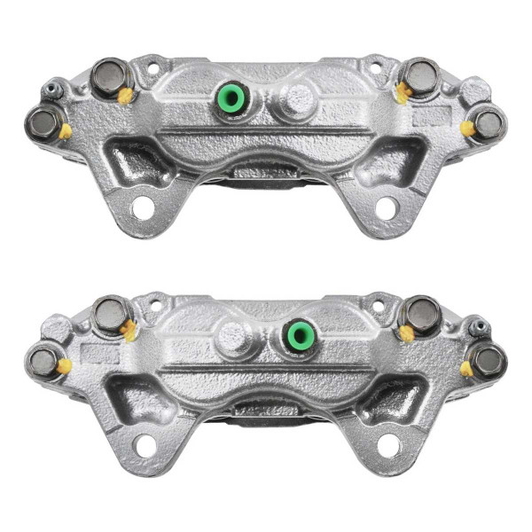 Front Disc Brake Caliper Pair Metal Quad Piston - Part # BC30150PR