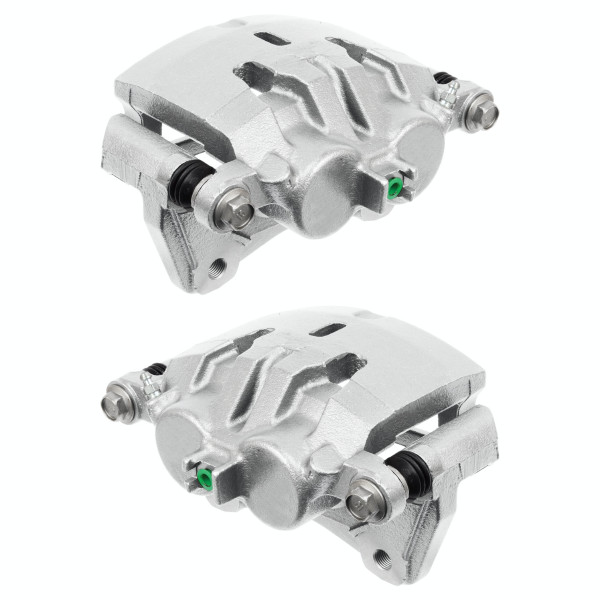 Front Brake Caliper Pair 2 Pieces Fits Driver and Passenger side - Part # BC30180PR