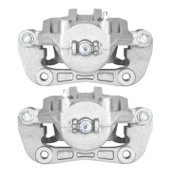 Front New Disc Brake Caliper with Bracket Set of 2, Driver and Passenger Side - Part # BC30212PR