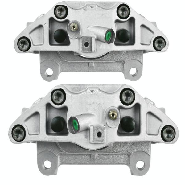 Front Disc Brake Caliper Pair Metal Piston - Part # BC30348PR