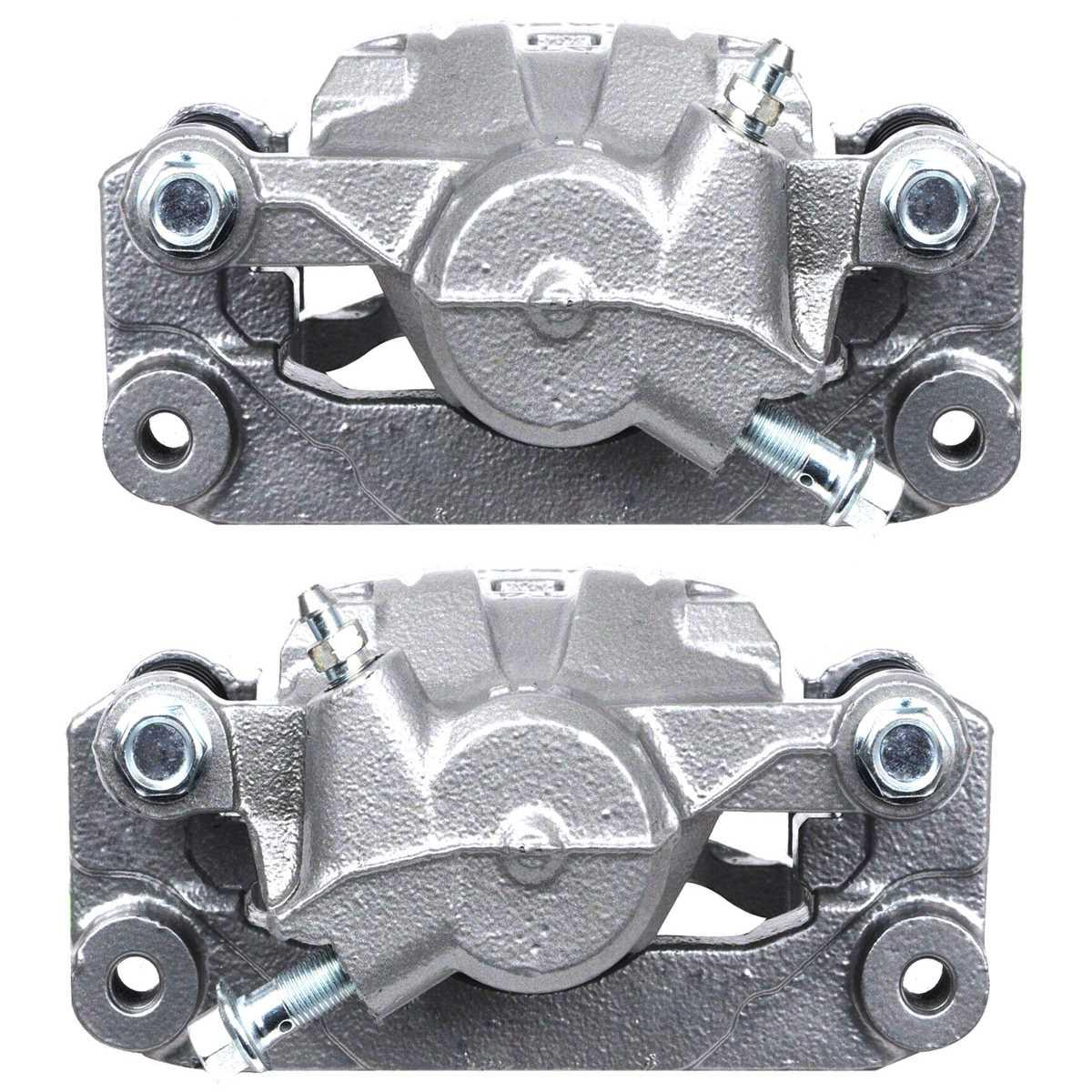 AutoShack BC30230PR Front Brake Caliper Pair 2 Pieces Fits Driver and Passenger Side