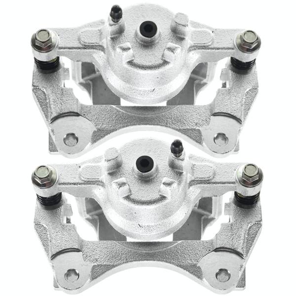 Front Disc Brake Caliper Pair Metal Piston - Part # BC30424PR
