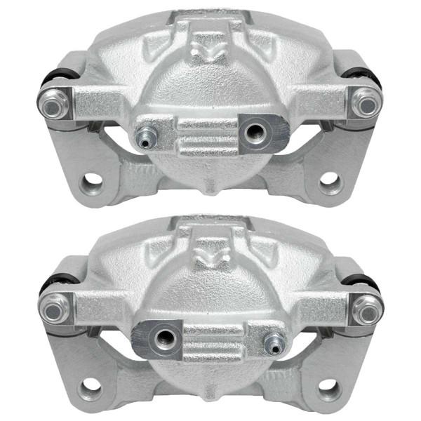 Front Disc Brake Caliper Pair Phenolic Single Piston - Part # BC3074PR