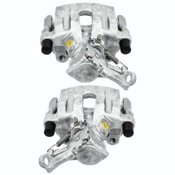 Rear Disc Brake Caliper Pair Metal Piston - Part # BC3928APR