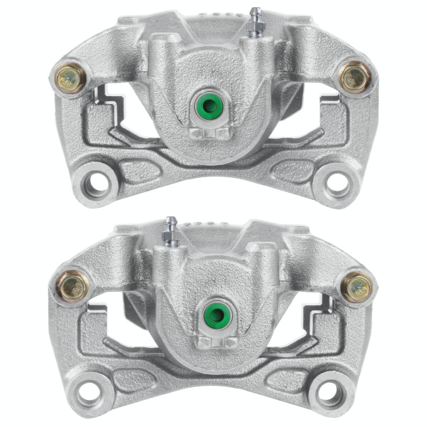 Front Disc Brake Caliper Pair Metal Piston - Part # BC7642PR