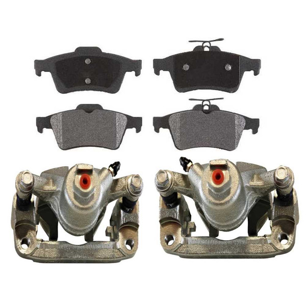 [Rear] Set of Brake Calipers and Ceramic Brake Pads - Part # BCPKG0006