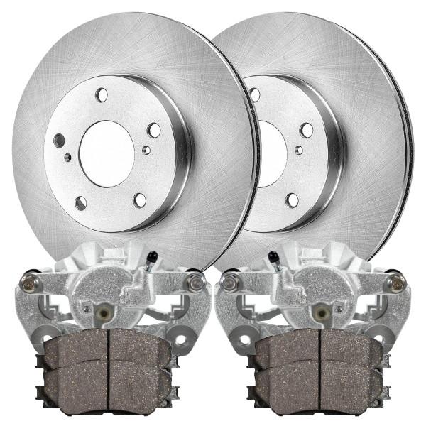 Bcpkg00082 Package Of Brake Calipers Rotors And Ceramic