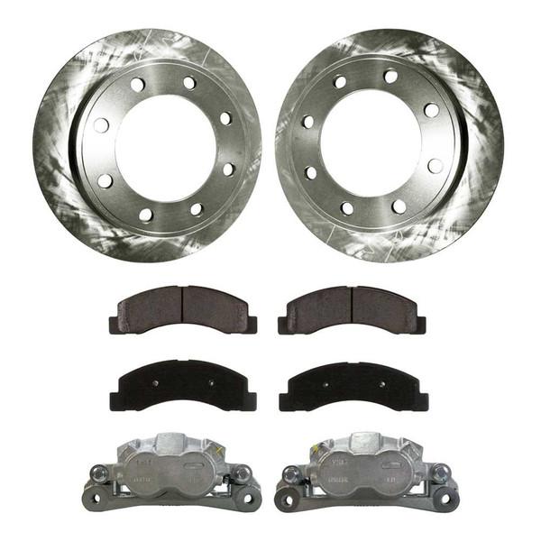 [Front] Brake Calipers w/Rotors&Ceramic Brake Pads Set - Part # BCPKG00691