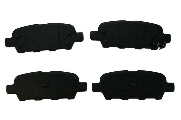 [Front & Rear Set] 4 Drilled & Slotted Performance Brake Rotors & 2 Sets Ceramic Brake Pads - Part # BRAKEPKG345