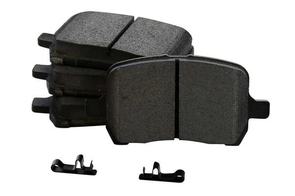 2 Complete Front & Rear Pair 4 Rotors and 8 Semi Metallic Pads - Part # BRAKEPKG587