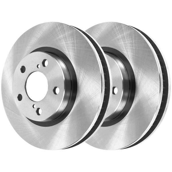 Front Ceramic Brake Pad and Rotor Bundle - Part # BRAKEPPK00130