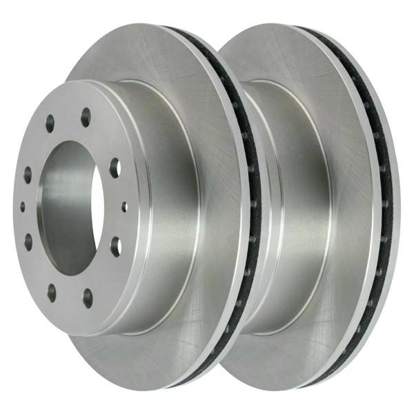 Front and Rear Disc Brake Rotors and Performance Ceramic Pads Kit - Part # BRAKEPPK00318