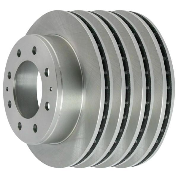 [Front & Rear Set] 4 Brake Rotors - Part # BRAKEPPK00320