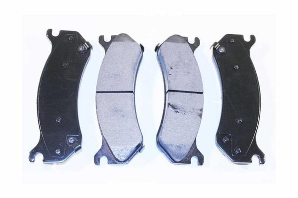 Front Performance Silver Rotors and Performance Ceramic Pads Set - Part # BRKPKG002266