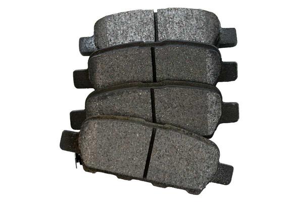 [Rear] - Drilled&Slotted Rotors w/Ceramic Pads Set - Part # BRKPKG003579