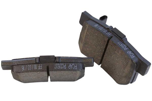[Front & Rear Set] 4 Brake Rotors & 2 Sets Performance Ceramic Brake Pads - Part # BRKPKG052036