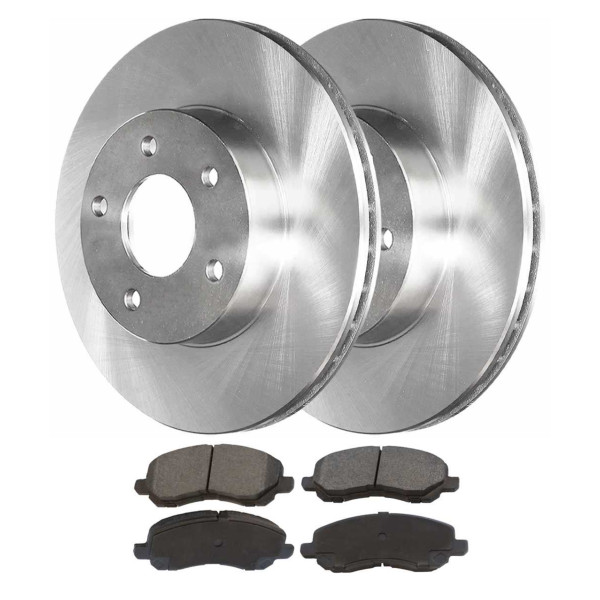 [Front Set] Rotors & Performance Pads - Part # BRKPKG0767