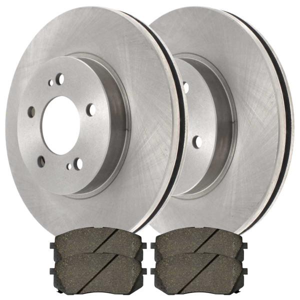 [Front Set] Rotors & Ceramic Pads - Part # BRKPKG0783