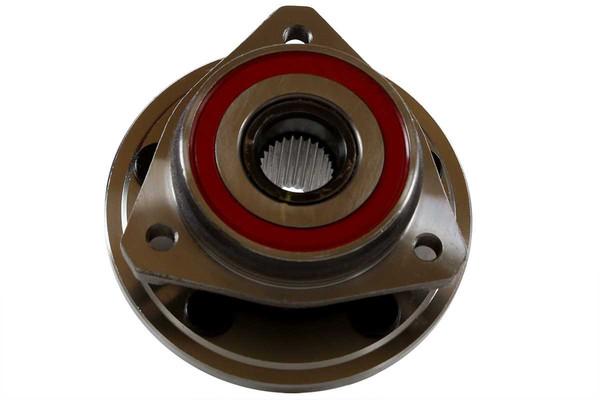 New Front Drilled Slotted Brake Rotors & Ceramic Pads & Hub Bearings - Part # BRKPKG667