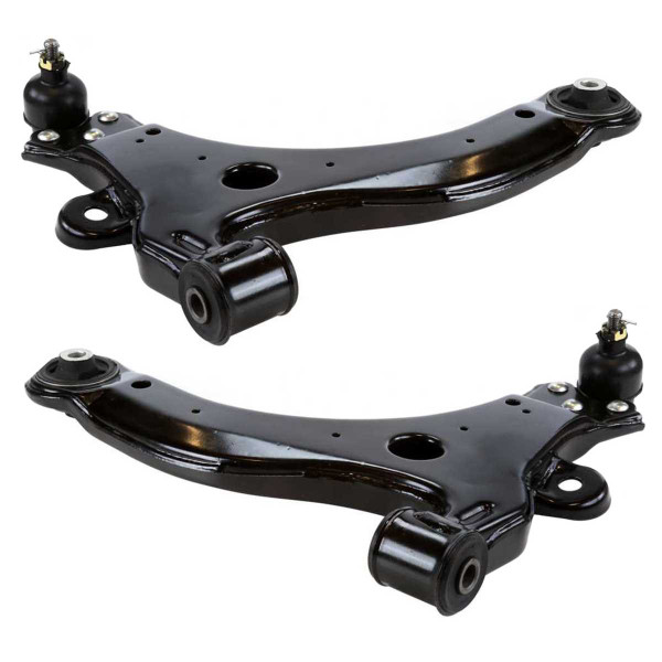 Front Lower Control Arm with Ball Joint Pair 2 Pieces Fits Driver and Passenger side - Part # CAK1215PR