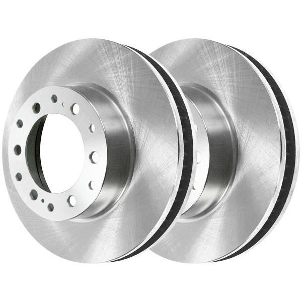 Rear Ceramic Brake Pad and Rotor Bundle - Part # CBO41296606C4R
