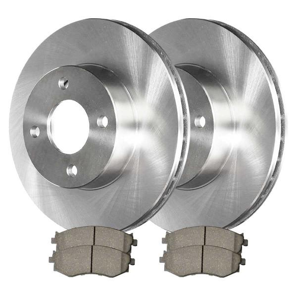 [Front Set] 2 Brake Rotors & 1 Set Ceramic Brake Pads - Part # CBO41309279C32