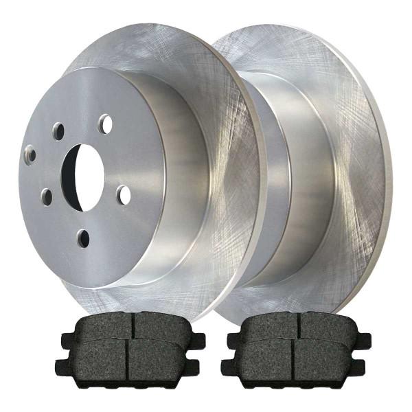 Rear Ceramic Brake Pad and Rotor Bundle - Part # CBO41314905CAL