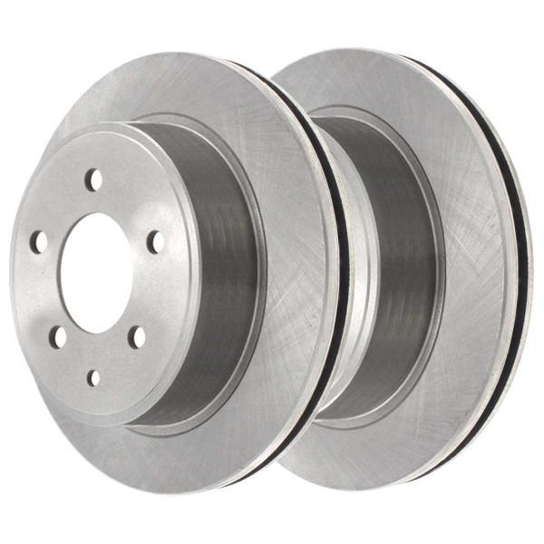 Rear Ceramic Brake Pad and Rotor Bundle - Part # CBO413511288CRO