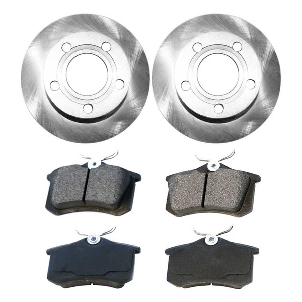 [Rear Set] 2 Brake Rotors & 1 Set Ceramic Brake Pads - Part # CBO44025340CPA