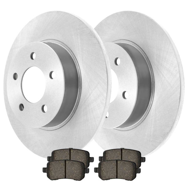 Rear Ceramic Brake Pad and Rotor Bundle 12 Inch Rotor Diameter - Part # CBO630521326CGR