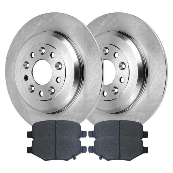 [Rear Set] 2 Brake Rotors & 1 Set Ceramic Brake Pads - Part # CBO641271071CFI