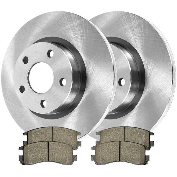Rear Ceramic Brake Pad and Rotor Bundle - Part # CBO65067698C