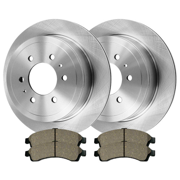 Front Ceramic Brake Pad and Rotor Bundle - Part # CBO65071882C32
