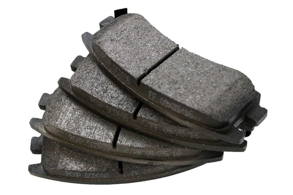 [Rear Set] 2 Brake Rotors & 1 Set Ceramic Brake Pads - Part # CBO65127698CAL