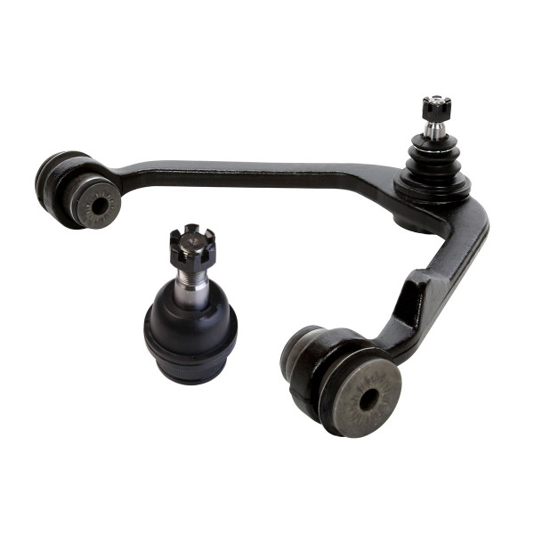 2 Piece Front Left Upper Control Arm With Ball Joint Front Lower Ball Joint Bundle RWD - Part # CK555-CAK482