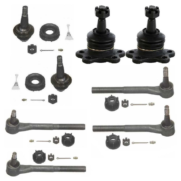 [Front set] 4 Ball Joints 2 Inner Tie Rods 2 Outer Tie Rods - Part # CTCT12050903