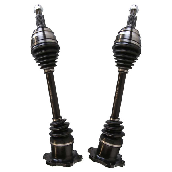 Left & Right Pair (2) of Complete Front Cv Axle Shafts - Part # DSK052052