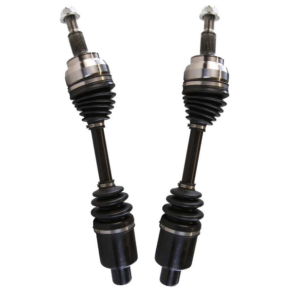 Left & Right Pair (2) of Complete Front Cv Axle Shafts - Part # DSK1101PR