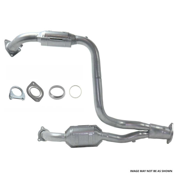 Exhaust Manifold with Catalytic Converter - Part # EM60513