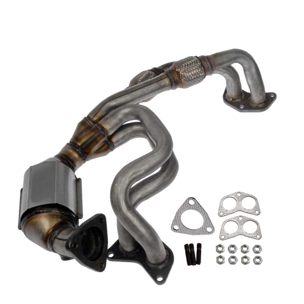 Prime Choice Auto Parts EMCC774891 Exhaust Manifold with Catalytic Converter