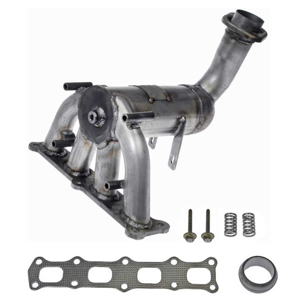 Exhaust Manifold with Catalytic Converter 2.4L - Part # EMCC774873