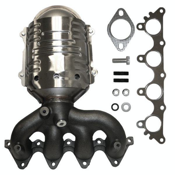 Exhaust Manifold with Catalytic Converter - Part # EMCC774887