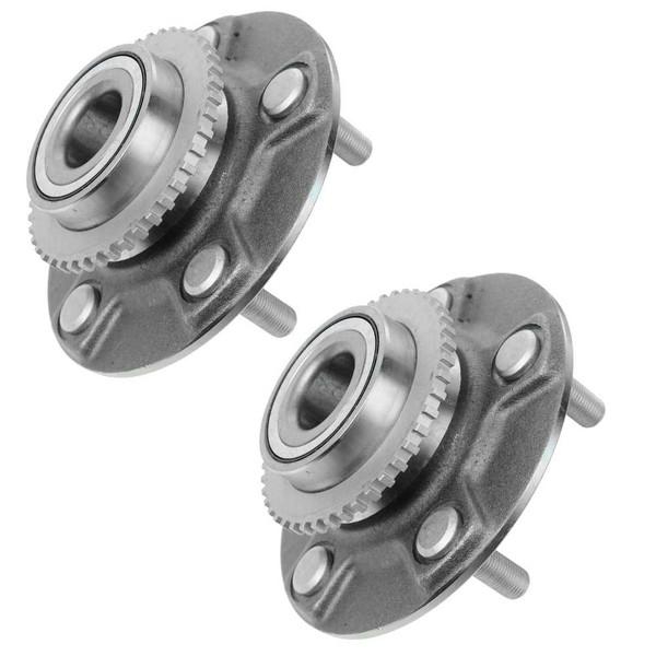 Pair 2 Rear Wheel Hub Bearing Assembly 5 Stud for Infiniti 00-01 I30 02-03 I35 - Part # HB612205PR