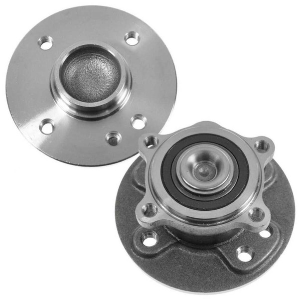 Pair 2 Rear Wheel Hub Bearing Assembly for 2002-2006 Mini Cooper FWD 1.6L SOHC - Part # HB612306PR
