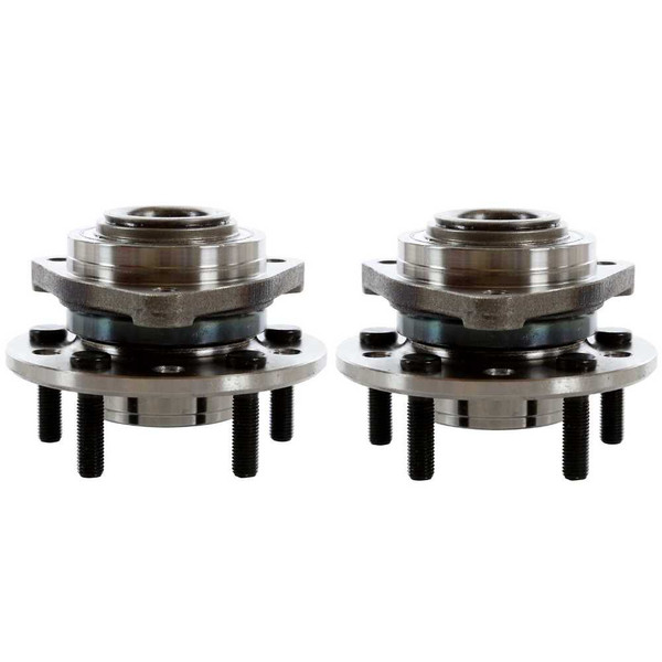 Pair 2 Front Wheel Hub Bearing Assembly 5 Stud for 1993-2004 Dodge Intrepid FWD - Part # HB613091PR